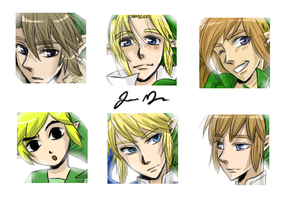 Link Icon Set by Animebabe161