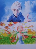 Jack frost and Periwinkle by theringofbelief
