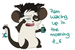 i hate mornings by Candehh