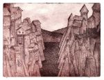 Medieval town by Astalo
