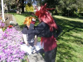 You Mustn't Touch Marluxia's Flowers! by Fireflyhikari
