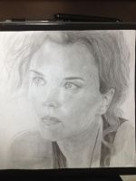 Dizzy Flores/Dina Meyer from Starship Troopers by Hanszs