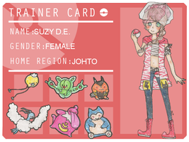 Pokemon Trainer: Suzy