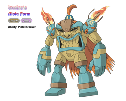 Golurk - Alola Form by locomotive111