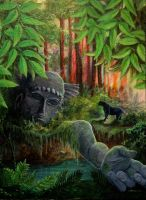 Jungle Giant by Clamdiggy
