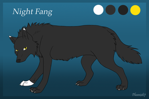 Night Fang ref sheet by Phoenix67