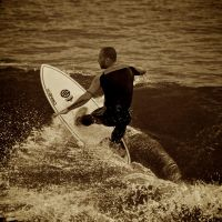 Surfing In Anglet 7 by Abylone