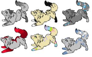 Wolfy adopts by Icey-adopts
