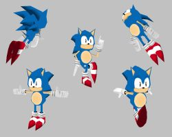 Low Poly Sonic by k1llerRabbit