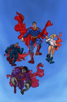 Kryptonians by mistermoster