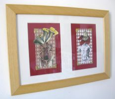 Etsy shop sale : framed collage by ArianeJurquet