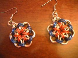 4th of july earrings kiriban by lunabellvarga