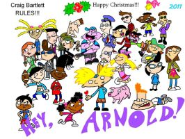 Hey Arnold by HeinousFlame
