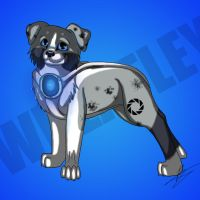 WHEATLEY - Dog by JacktheFireWolf