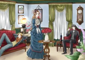 C12 - Victorian Blue by Heldrad