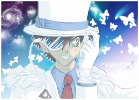 Kaitou KID in Color by Miharu-san