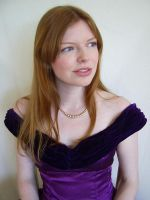 Purple Portrait 1 by chamberstock