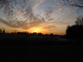28-10-09 Sunset 4 by Herdervriend