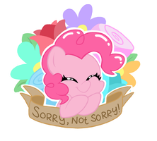 Rude Pinkie by FrogAndCog
