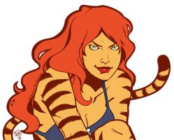 Tigra by scrimmshaw