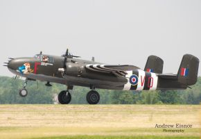 B-25 Mitchell by AEisnor
