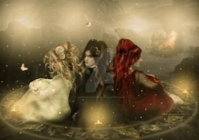 The Three Sisters by babsartcreations