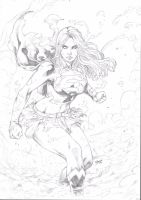 Supergirl by Deilson