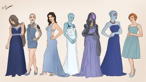 Women of ME by Autumn-Sacura