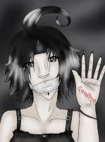 She held goodbyes in her hand by Yoru-Vampire