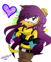 OHS Purple Haired Mongoose by Divert-S