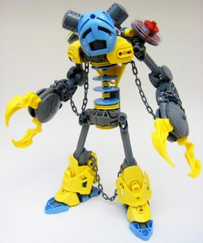 S.a.D. Robot #2: The Shackled Jester by LordObliviontheGreat