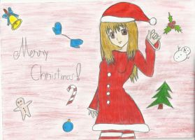I just what to say Merry Christmas by Ninih