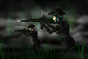 Jungle Raid by carrot25