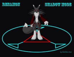 Renamon Shadow Mode by WolfGuardian2