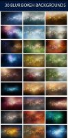 Blur Bokeh Backgrounds by snkdesigns