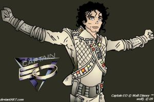 Captain EO by wolfjedisamuel
