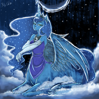 Princess_Luna by BuNInA