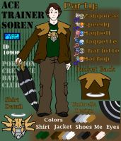 PCBC: Ace Trainer Soren Ref. by The-Blue-Pangolin