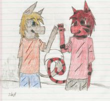 High Five by jakers141