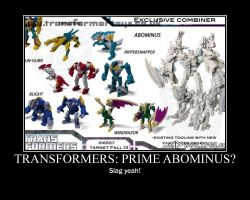 Transformers: Prime Abominus by Onikage108