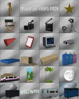 Movie Set - Props Pack by deexie