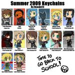 Summer 2009 Keychains - Neooki by Apollo-Art