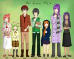 The Seventh Me family by digorylarynith
