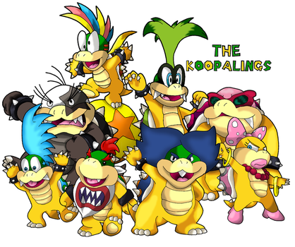 The Koopalings by Tails19950