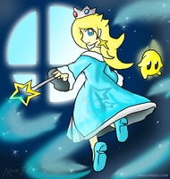 Rosalina: Launch Into Battle by Xero-J