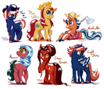 Nation Pony Requests: Countries by TariToons