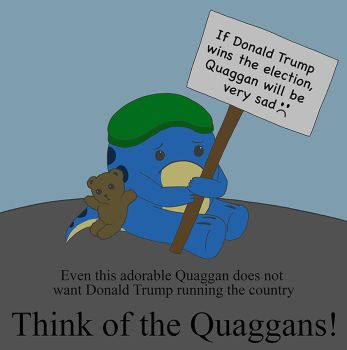 Anti-Donald Trump Quaggan by dragongirl117