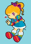 Rainbow Brite by nerdeeart