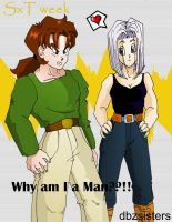 TxS week Gender bending by dbzsisters