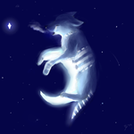Howling at the Moon by MewOfTheClouds